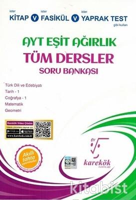 Karekök Yayınları - AYT Tüm Dersler (Eşit Ağırlık) Soru Bankası