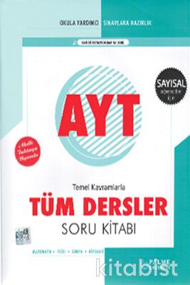 Palme Yayınları - AYT Tüm Dersler Soru Bankası (Sayısal)