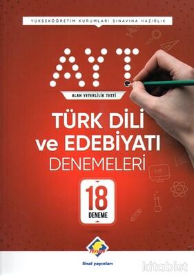 Final Yayınları - AYT Türk Dili ve Edebiyatı 18 Li Deneme Sınavı