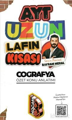 Benim Hocam Yayınları - AYT Uzun Lafın Kısası Coğrafya Konu Anlatımı