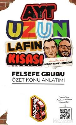 Benim Hocam Yayınları - AYT Uzun Lafın Kısası Felsefe Konu Anlatımı