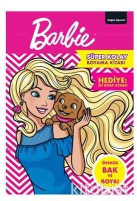 Doğan Egmont Yayınları - Barbie Süper Kolay Boyama Kitabı
