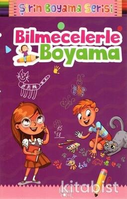 Baloncuk Kitap - Bilmecelerle Boyama Şirin Boyama Serisi