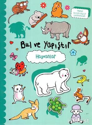 Doğan Egmont Yayınları - Bul ve Yapıştır - Hayvanlar