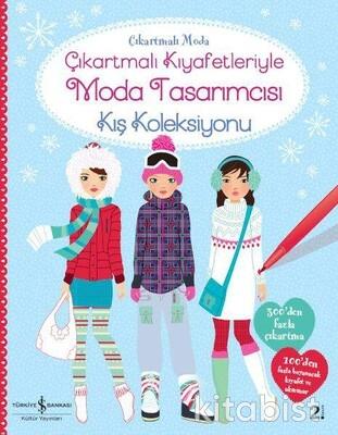 İş Bankası Yayınları - Çıkart.Kıy.Moda Tasarımcısı-Kış Koleksiyonu