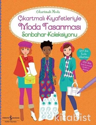 İş Bankası Yayınları - Çıkart.Kıy.Moda Tasarımcısı-Sonbahar Koleksiyonu