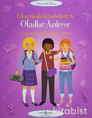 İş Bankası Yayınları - Çıkart.Kıy.Okullar Açılıyor