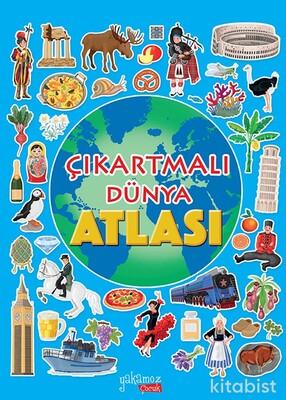 Yakamoz Yayınları - Çıkartmalı Dünya Atlası