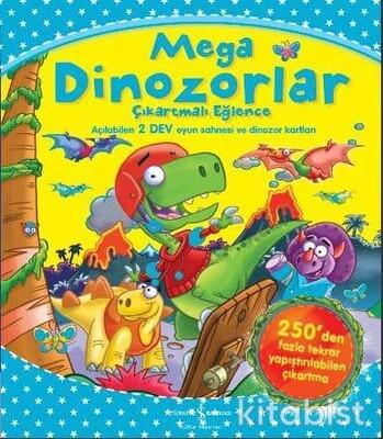 Çıkartmalı Eğ.-Mega Dinozorlar