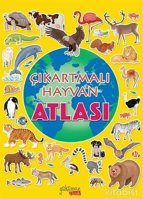 Yakamoz Yayınları - Çıkartmalı Hayvan Atlası