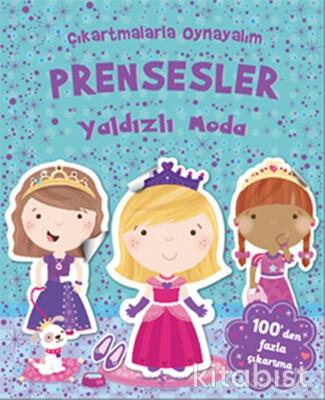 Çıkart.Oy.-Prensesler Yaldızlı Moda