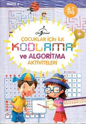 Çocuk Gezegeni - Çocuklar İçin İlk Kodlama ve Algoritma Aktiviteleri 4/7 Yaş- 4 Kitap