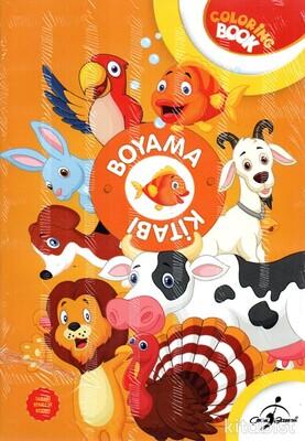 Çocuk Gezegeni - Coloring Book Boyama Kitabı-5 Kitap