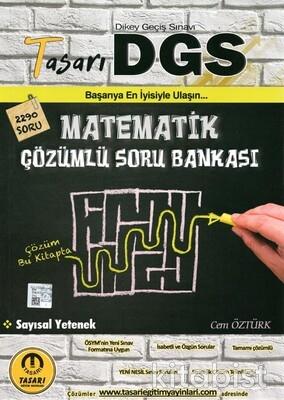 Tasarı Eğitim Yayınları - DGS Matematik Çözümlü Soru Bankası