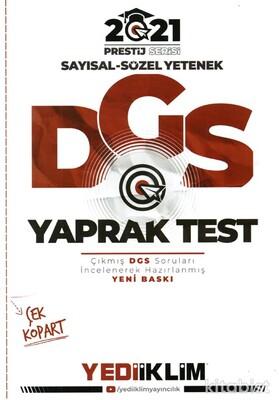 Yedi İklim Yayınları - DGS 2021 Prestij Serisi Yaprak Test
