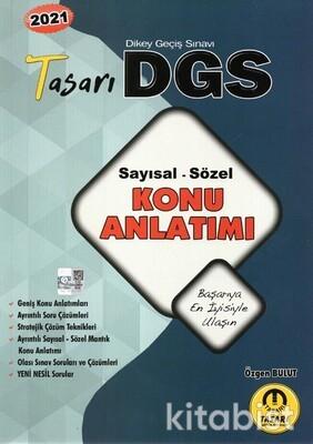 Tasarı Eğitim Yayınları - DGS 2021 Sayısal-Sözel Konu Anlatımı