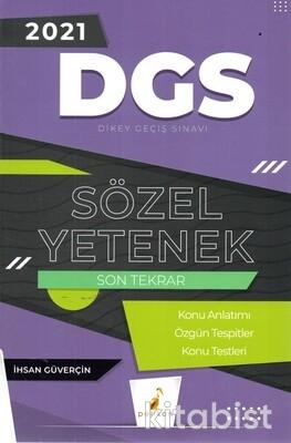 Pelikan Yayınları - DGS 2021 Sözel Yetenek Son Tekrar Konu Anlatımlı