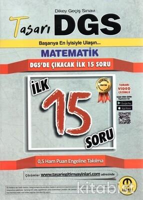 Tasarı Eğitim Yayınları - DGS 2021 Matematik İlk 15 Soru