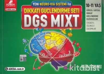 Adeda Yayınları - DGS Mıxt Dikkat Güçlendirme Seti - 10-11 Yaş