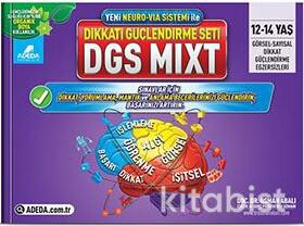 Adeda Yayınları - DGS Mıxt Dikkat Güçlendirme Seti - 12-14 Yaş