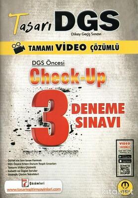 Tasarı Eğitim Yayınları - DGS Öncesi Check Up Video Çözümlü 3 Deneme