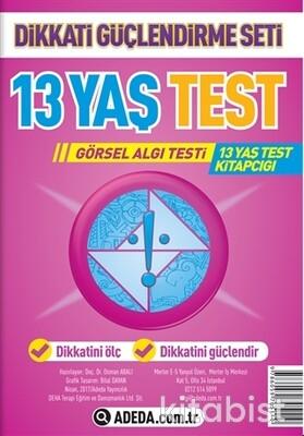 Adeda Yayınları - Dikkati Güçlendirme Seti - 13 Yaş-Görsel Algı Test