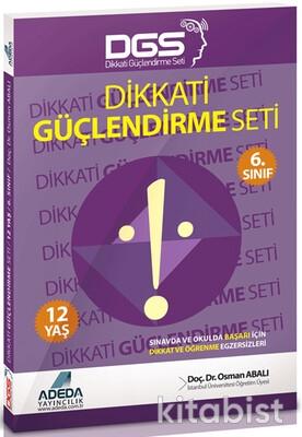 Adeda Yayınları - Dikkati Güçlendirme Seti 6.Sınıf 12 Yaş
