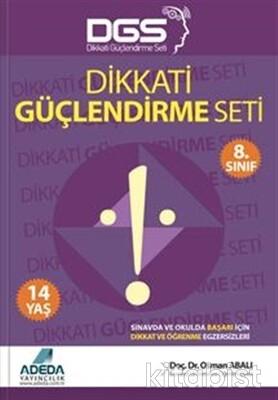 Adeda Yayınları - Dikkati Güçlendirme Seti 8.Sınıf 14 Yaş