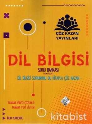 Çöz Kazan Yayınları - Dil Bilgisi Konu Özetli Soru Bankası