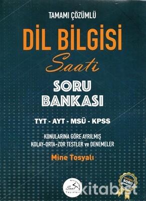 Saat Yayınları - Dil Bilgisi Saati Tamamı Çözümlü Soru Bankası