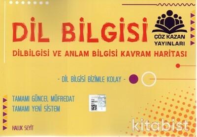 Çöz Kazan Yayınları - Dil Bilgisi ve Anlam Bilgisi Kavram Haritası ve Notları