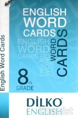 Dilko Yayıncılık - Dilko 8. Sınıf İngilizce Kelime Kartı