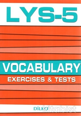 Dilko Yayıncılık - Dilko LYS-5 Vocabulary Exercises & Tests