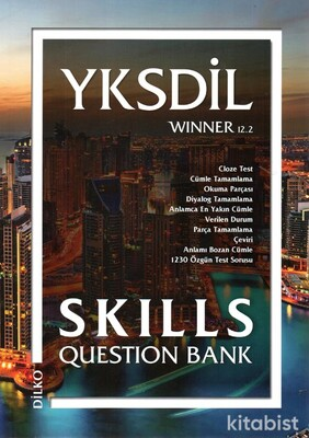 Dilko Yayıncılık - Dilko YKSDİL Winner 12.2 Skılls Question Bank