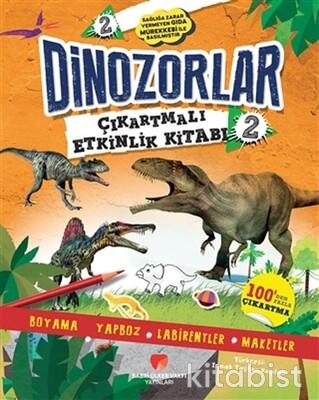 Sabri Ülker Vakfı - Dinozorlar Çıkartmalı Etkinlik Kitabı 2