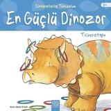 1001 Çiçek Yayınları - Dinozorlarla Tanışalım-Triceratops-En Güçlü Dinozor