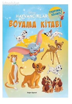 Doğan Egmont Yayınları - Disney Hayvancıklar Boyama Kitabı