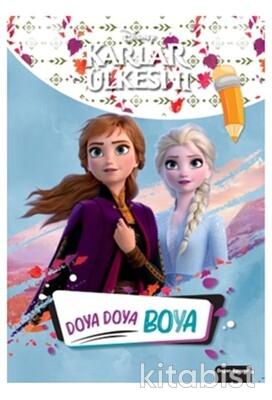 Doğan Egmont Yayınları - Disney Karlar Ülkesi 2 - Doya Doya Boya