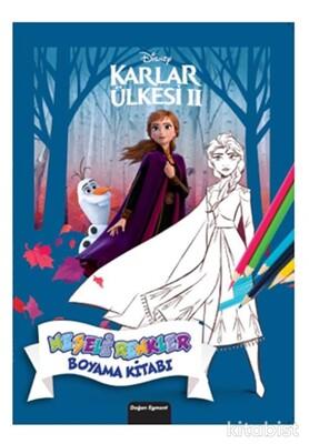 Doğan Egmont Yayınları - Dısney Karlar Ülkesi 2 Neşeli Renkler Boyama Kitabı