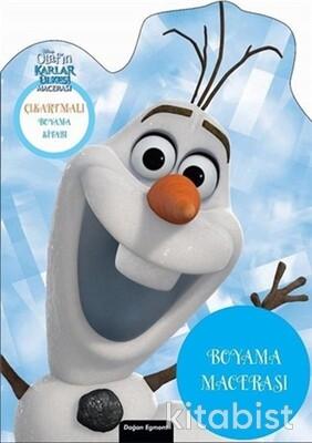 Doğan Egmont Yayınları - Disney Olafın Karlar Ülkesi Boyama Macerası