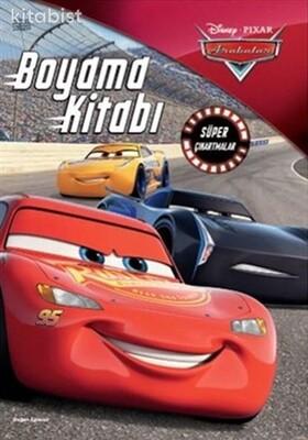 Doğan Egmont Yayınları - Disney Pıxar Arabalar Boyama Kitabı Süper Çıkartmalar