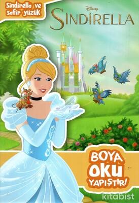 Doğan Egmont Yayınları - Disney Sindirella ve Safir Yüzük Boya Oku Yapıştır
