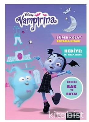 Doğan Egmont Yayınları - Dısney Vampirina Süper Kolay Boyama Kitabı