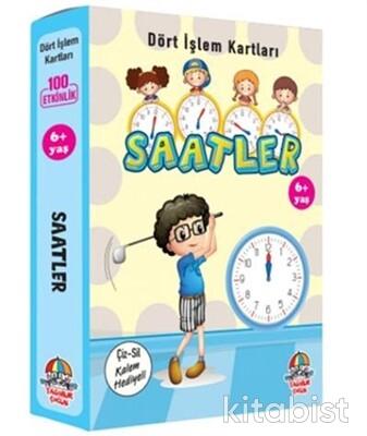 Yağmur Çocuk - Dört İşlem Kartları-Saatler 6+Yaş