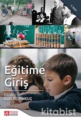 Pegem Yayınları - Eğitime Giriş