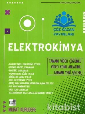 Çöz Kazan Yayınları - Elektrokimya Tamamı Çözümlü Konu Anlatımlı - 2021