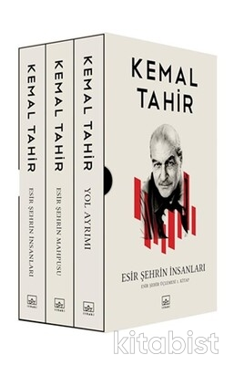 İthaki Yayınları - Esir Şehrin Üçlemesi (Kutulu Set)