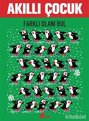Çınar Yayınları - Farklı Olanı Bul - Akıllı Çocuk