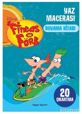 Doğan Egmont Yayınları - Fineas Ve Förb Yaz Macerası Boyama Kitabı