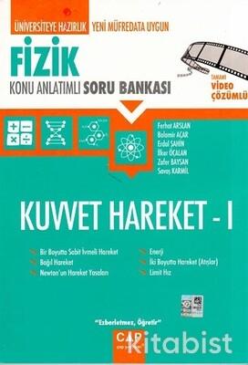 Çap Yayınları - Fizik - Kuvvet Hareket 1 Konu Anlatımlı Soru Bankası